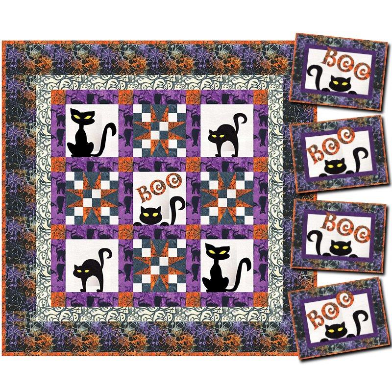 Cat's Path Quilt & Placemat Kits