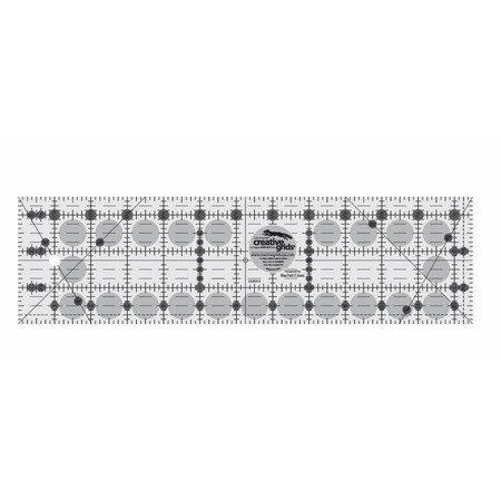 Creative Grids - 3 1/2 by 12 1/2 Ruler