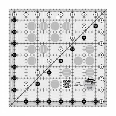 Creative Grids Square Ruler 8 1/2 x 8 1/2