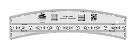 Creative Grids - Quiltworx - 12 Wave Ruler