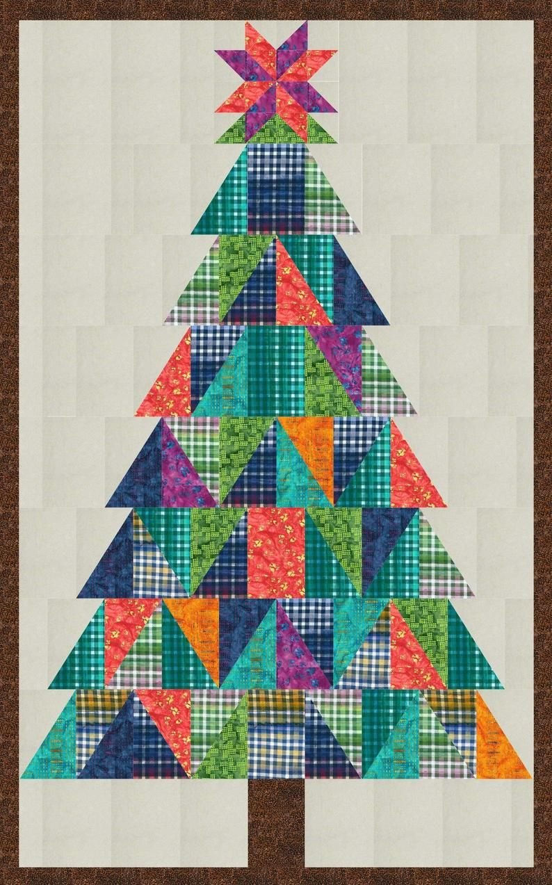 **NEW**  Gandiegow Christmas Tree Quilt Kit