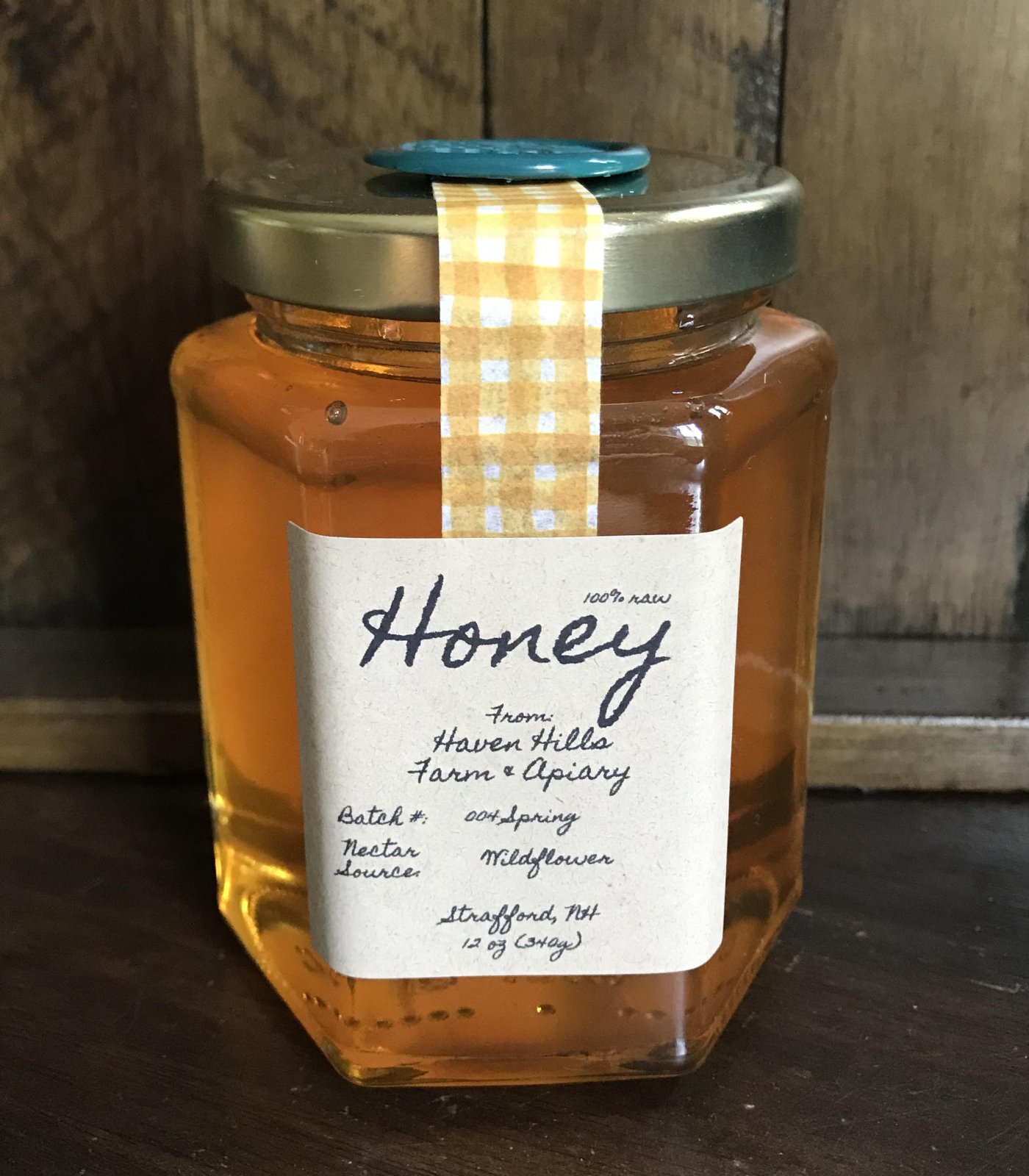 Honey - 12 oz. (Available In-Shop Only)