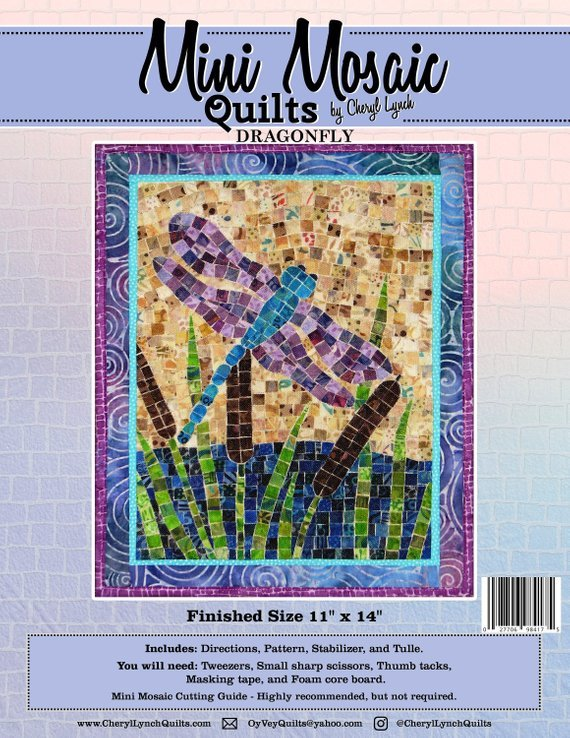 Mini Mosaic Dragonfly Kit