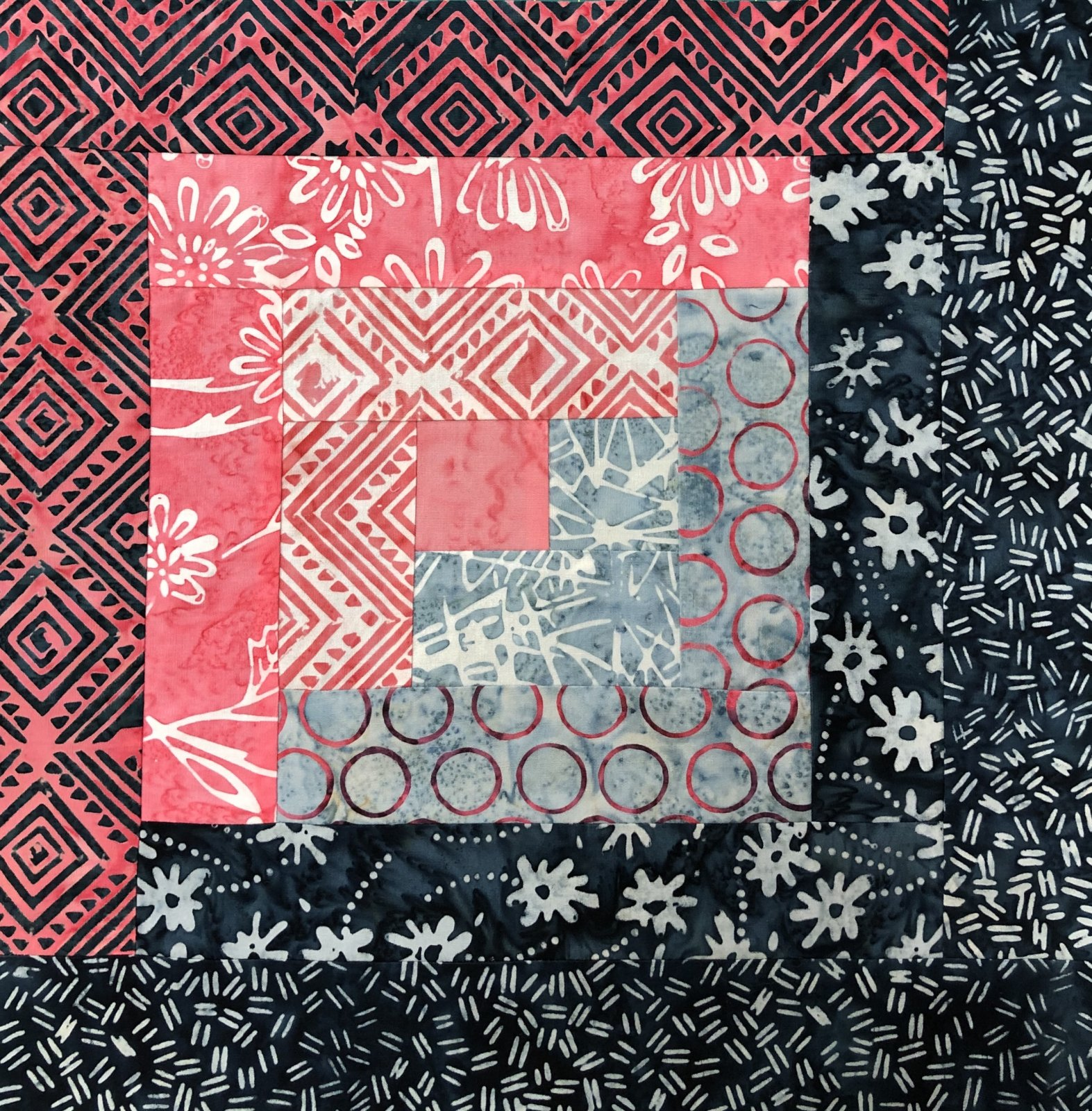 **NEW** Pre-Cut Log Cabin Kit - Anthology - Art Inspired: Mary Inman