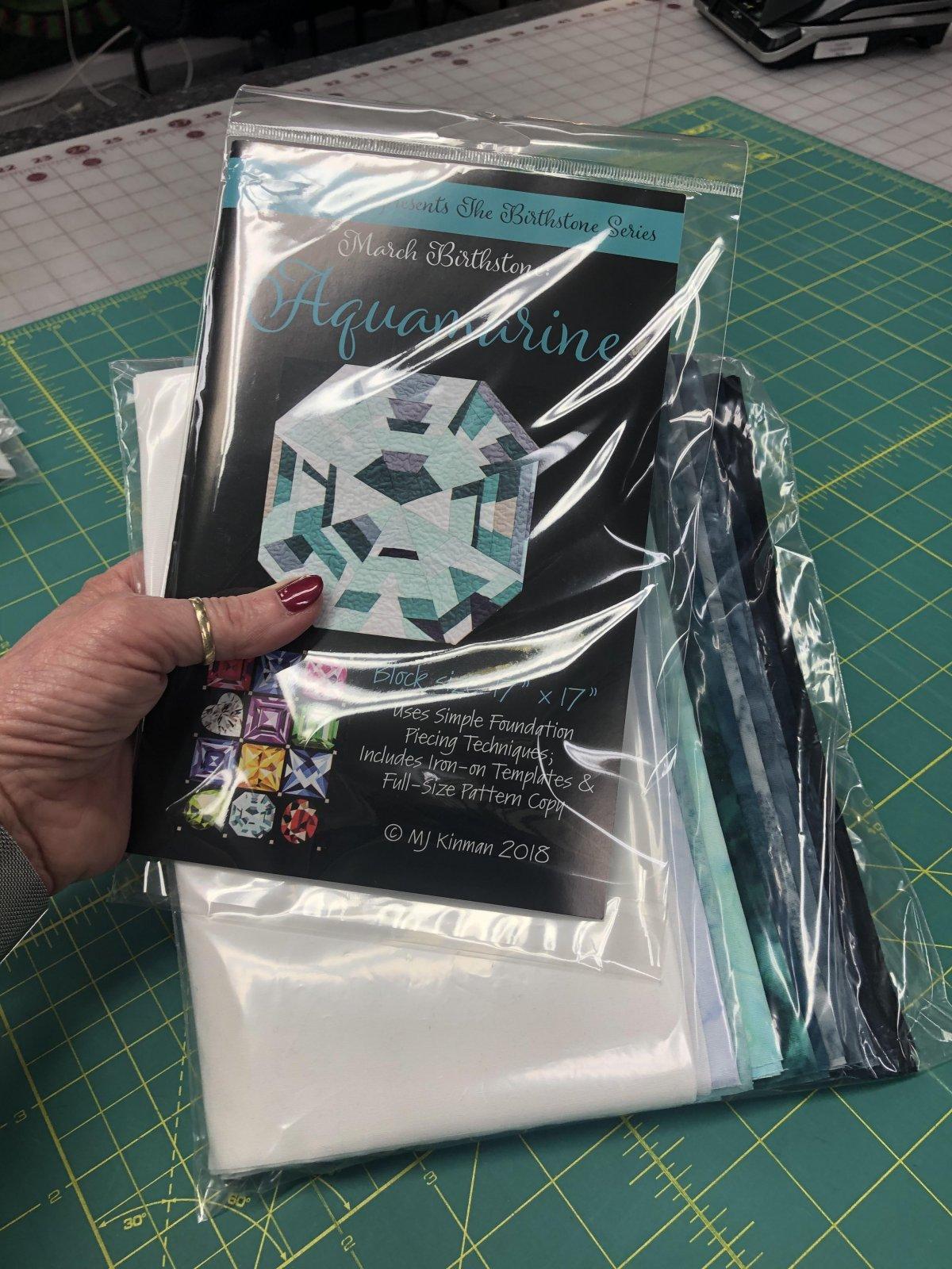 March Birthstone Aquamarine Kit - Including Pattern - 25% OFF