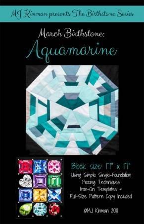 March Birthstone Pattern - Aquamarine