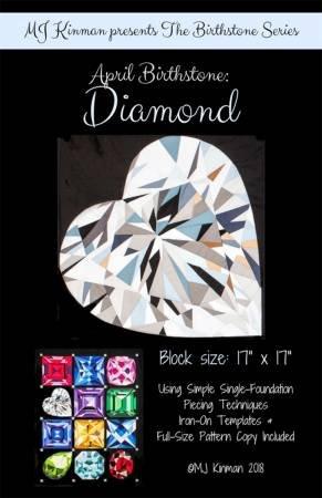 April Birthstone Pattern - Diamond