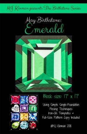 May Birthstone Pattern - Emerald