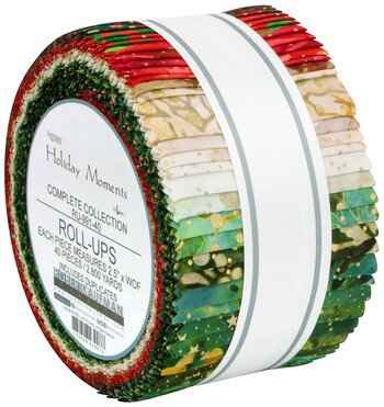 Holiday Moments 2.5 inch strips - 40 Pieces