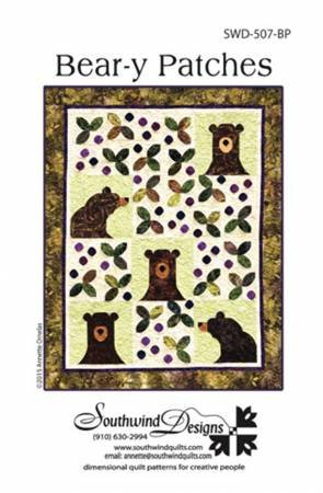 Bear-y Patches Pattern