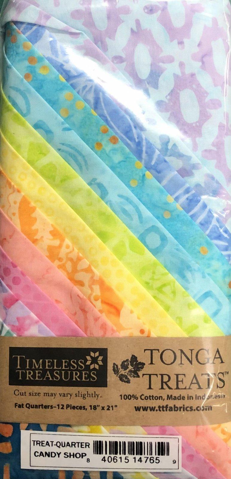 Tonga Treats - 12 Fat Quarters - Candy Shop