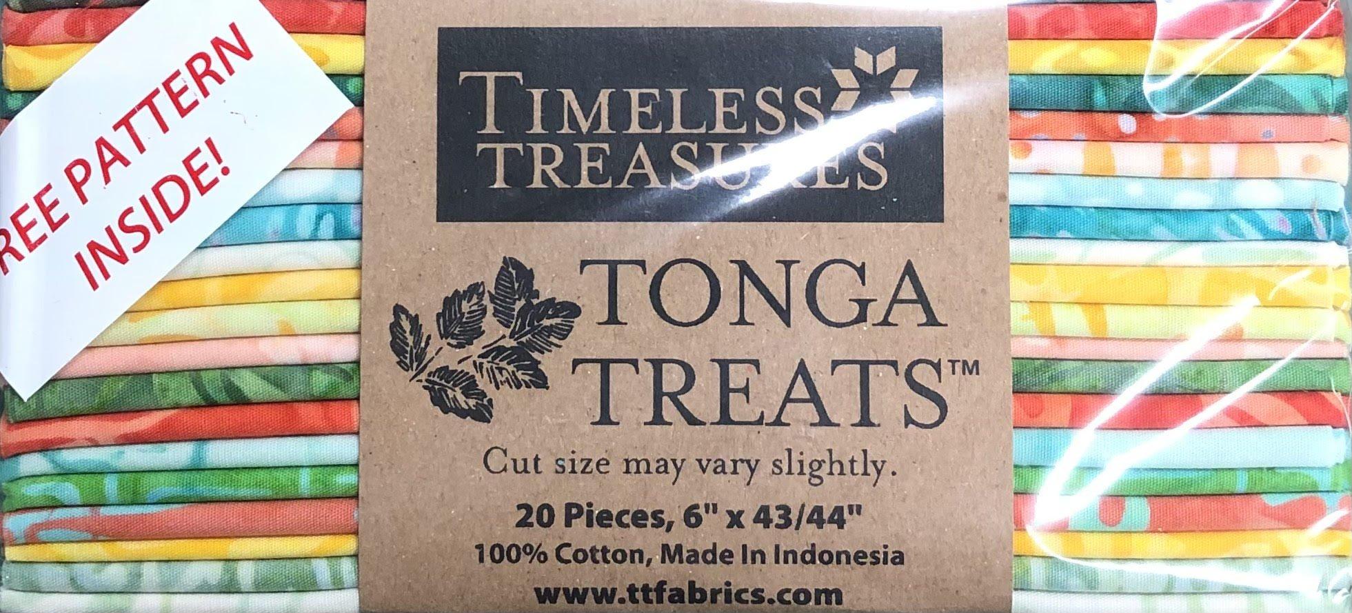 Tonga Treats - 20 6 x 42 Strips - Salsa