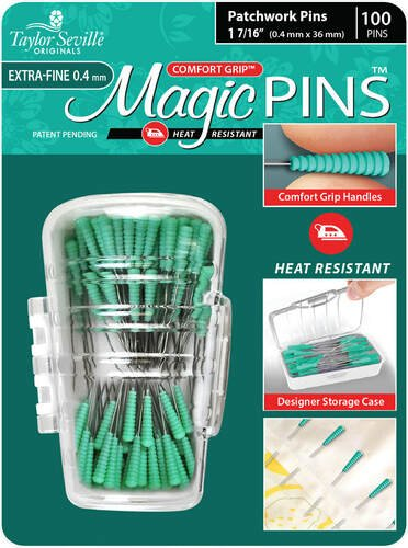 Magic Pins Extra Fine(0.4 mm) - 50 Pins
