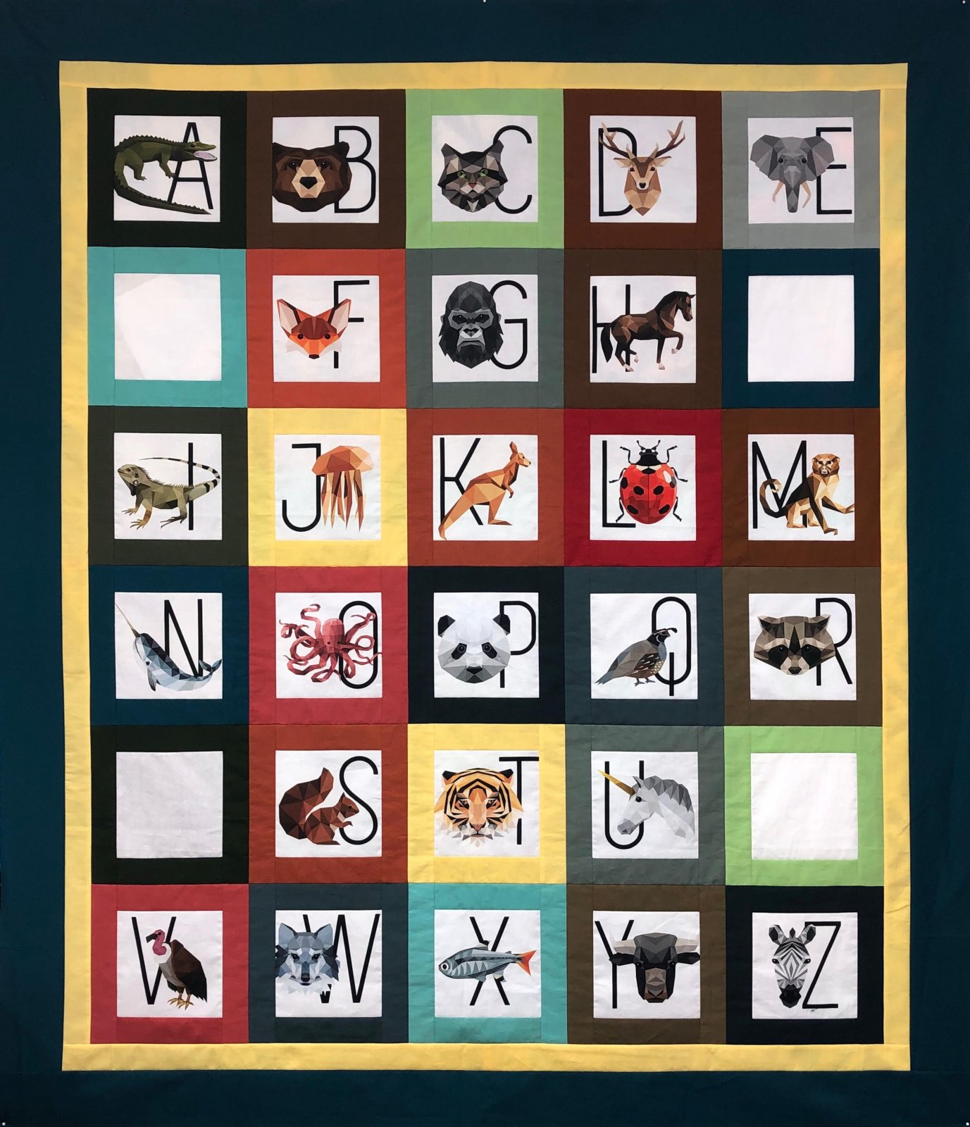 Aidan's Wicked Cool Zookeeper Quilt Kit