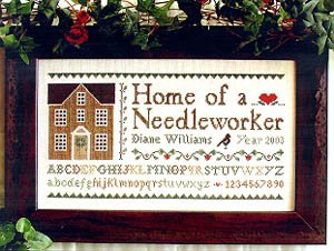 Home of a Needleworker ~ Little House