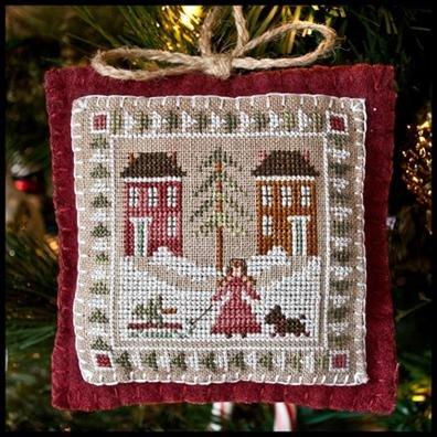 2011 Bringing Home the Tree Ornament # 2 ~ LHN