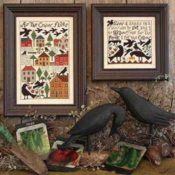 As the Crow Flies ~ Prairie Schooler