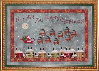 Santa's Midnight Flight ~ Praiseworthy Stitches