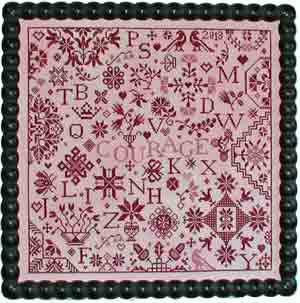Simple Gifts - Courage ~ Praiseworthy Stitches