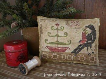 Beggar's Christmas ~ Threadwork Primitives