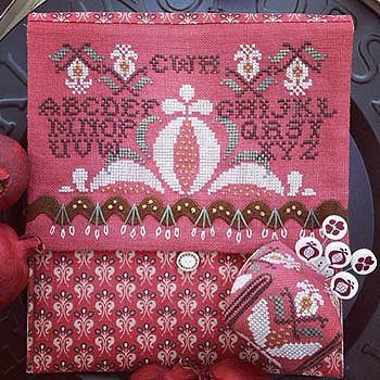 Pomegranate Pocket ~  Hands On Design