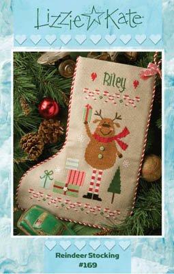 Reindeer Stocking ~ LK