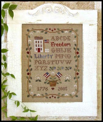 Americana Sampling ~ Little House Needleworks