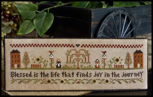 Blessed is the Life ~ Little House Needleworks