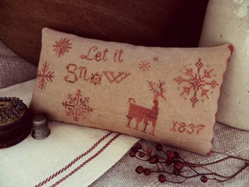 Let it Snow ~ Threadwork Primitives