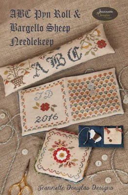 ABC PYN Roll & Bargello Sheep Needlekeep ~ JDD