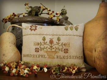 Bountiful Blessings ~ Threadwork Primitives