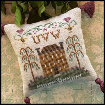 ABC Samplers #8 UVW ~ Little House Needleworks