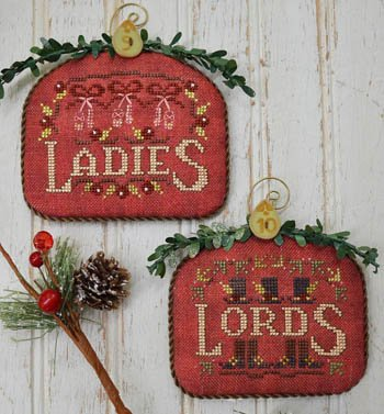 12 Days Ladies and Lords ~ Hands On Design