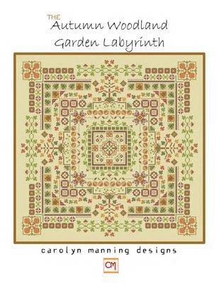 Autumn Woodland Garden Labyrinth ~ CM Designs