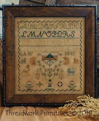 1842 SAW Sampler ~ Threadwork Primitives