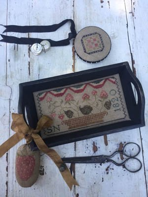 Berry Basket Sewing Tray etc ~ Stacy Nash