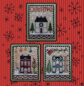 Christmas House Trio ~ Waxing Moon