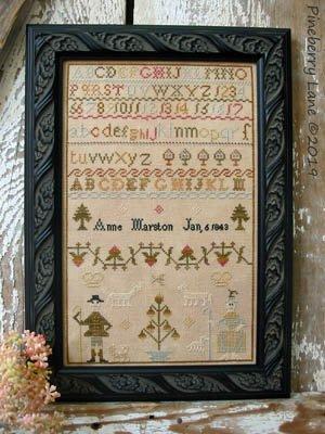 Anne Marston 1843 ~ Pineberry Lane