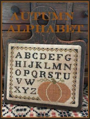 Autumn Alphabet ~ Scarlett House