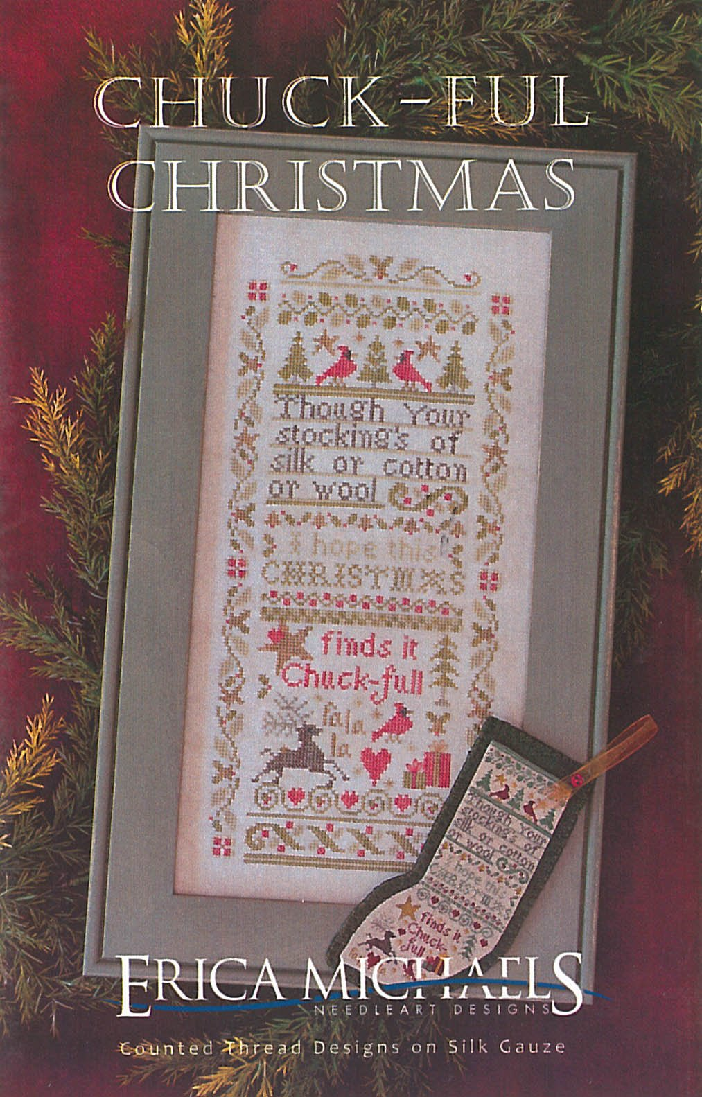 Chuck-ful Christmas ~ Erica Michaels