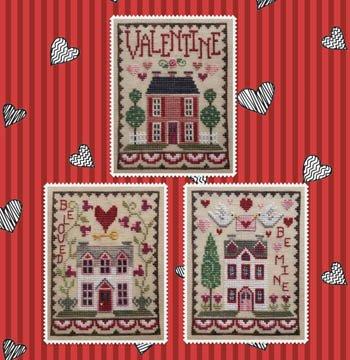 Valentine House Trio ~ Waxing Moon