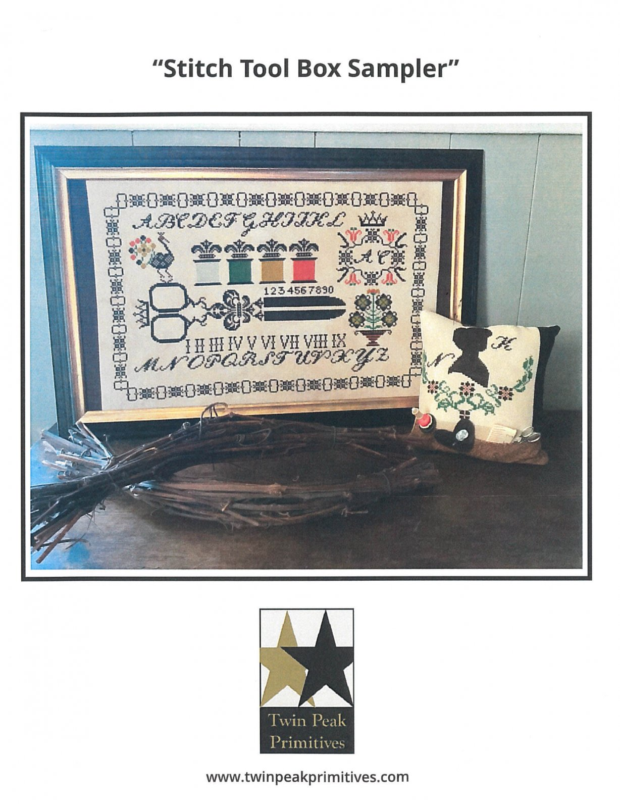 Stitch Tool Box Sampler ~ Twin Peak