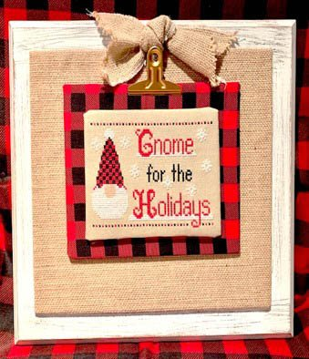 Gnome for the Holidays ~ Pickle Barrel