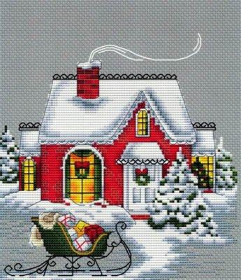 Christmas House ~ Les Petites Croix De Lucie