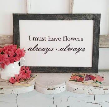 Flowers Always ~ Liz Mathews