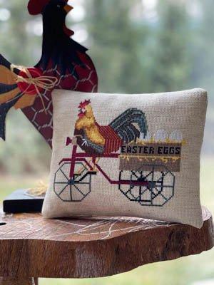 Easter Rooster ~ Twin Peak Primitives