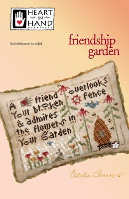 Friendship Garden (w/emb) ~ HIH
