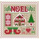 Noel Christmas Sampler ~ Sugar Stitches