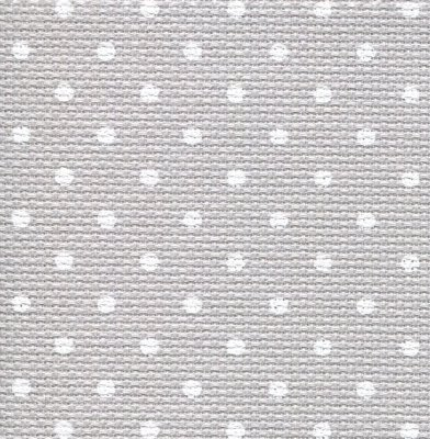18 ct Grey/Wht Petit Point Aida