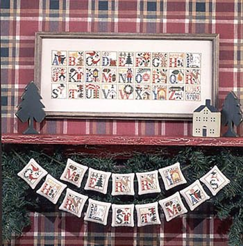 Christmas Alphabet ~ The Prairie Schooler